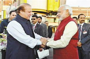 莫迪突访巴基斯坦