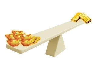 买纸黄金和购黄金股票有什么区别?