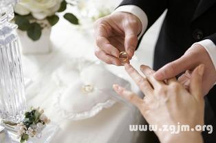 梦到自己向前夫求婚