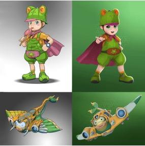 收视冠军 图腾领域 与乐艺ArtPage共创平台化动画制作模式