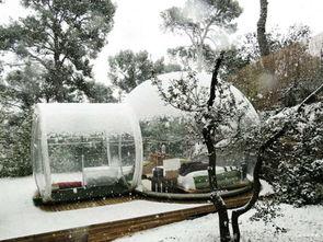 把圆圆的肥皂泡变成帐篷,是怎样一种奇妙体验