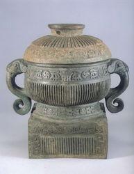 青铜器编,中国古典艺术,大气有盖厚实感,青铜器编0175