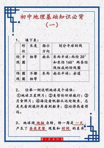 初三中国地理知识点总结