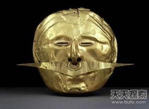 印第安人黄金面具-古代神秘黄金面具 图坦卡蒙震撼世界 3