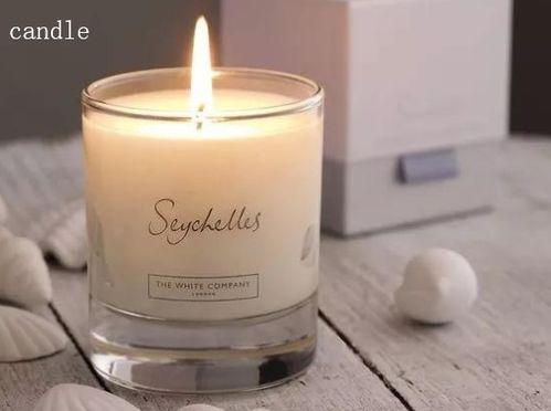 蜡烛用英文怎么说