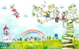 描写春天的天空的词语