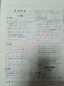 黄冈小状元数学作业本六级下册答案