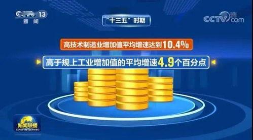 高技术制造业增加值平均