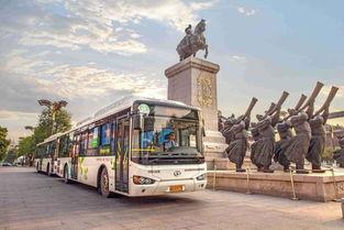 逾千辆海格新能源公交车畅行西安