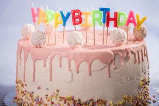 生日快乐的蛋糕图片 粉色的生日蛋糕甜点素材 高清图片 摄影照片 寻图免费 ...