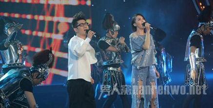 2014年第十届中国金鹰电视艺术节开幕式谭维维金志文旧曲新唱