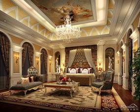 欧式风格别墅客厅装修效果图 (800x640)-266平欧式风格别墅餐厅装...