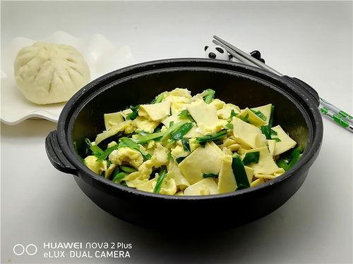 韭菜豆芽鸡蛋豆皮馅的做法大全