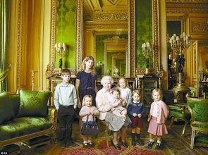 英国女王家
