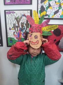 印第安人面具