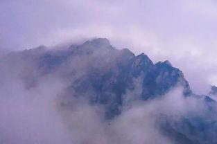 有二百多天都下雨的黄山 冬季云雾缭绕 别样韵味