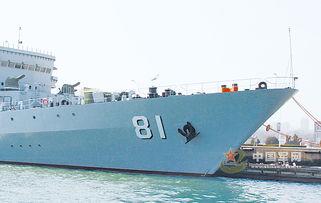 中国海军舰艇将全部更换新式舷号风格大气美观