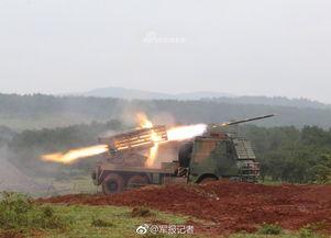 第75集团军某红军旅组织新列装的某型火箭炮实弹射击训练