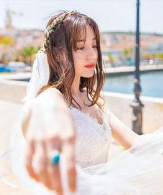 迪丽热巴就是最美的婚纱代言人啊!