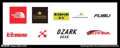 运动品牌 logo图片