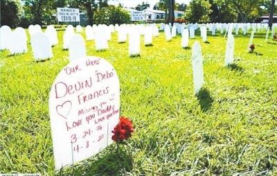 白宫外摆2万张椅子纪念新冠死者(无驾驶证开车制二人死)
