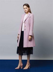 双面羊绒大衣折扣女装 商场专柜
