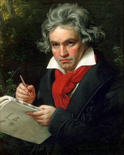 贝多芬。(