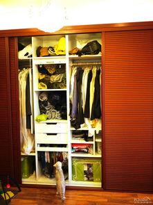 衣帽间欧设整体衣柜