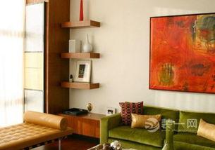 一作收纳二作展示 大同星艺装饰8款墙面隔板设计案例