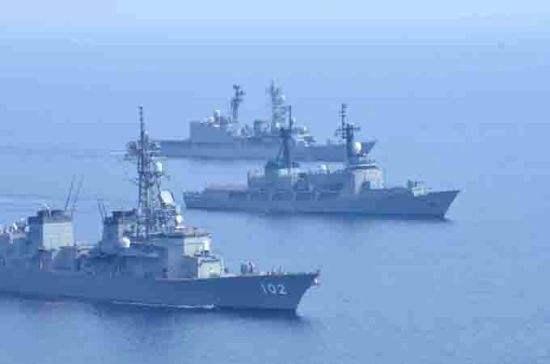 日菲海上力量南海联合演习