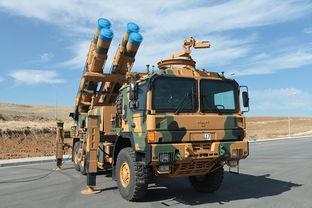 土耳其仿制中国卫士-2的火箭炮.