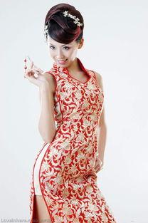 风情万种的旗袍风韵