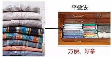 衣柜叠放长裤-优库网