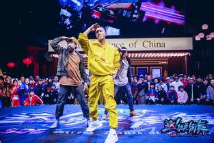 就是街舞》第一季中的韩庚(图片来源:微博@这就是街舞)