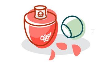 简笔画香水的画法 简笔画动画教程之香水瓶的绘画分解步骤