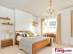 时尚简约卧室100平方房子设计图-100平方复式装修 房天下装修效果图