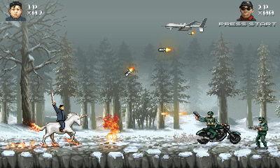 美国公司推出新款游戏 金正恩单挑美国