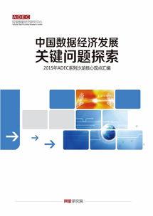 阿里数据经济研究中心 中国数据经济发展关键问题探索