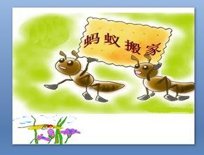 小蚂蚁去旅行美术教案
