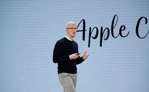 库克获8亿元年终奖苹果账户每秒增加1.8万元人民币