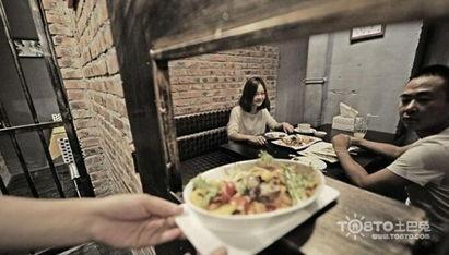 天津现监狱主题餐厅 体会 牢饭 的滋味