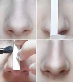 卡通人物鼻子、耳朵和五官的画法