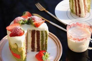 2018年第一款好彩头网红蛋糕,居然是这款海绵 戚风组合成的双口味漩涡蛋糕