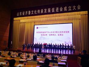 山东省齐鲁文化传承发展促进会成立吕民松当选会长