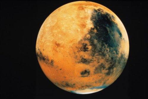 关于火星的知识200字