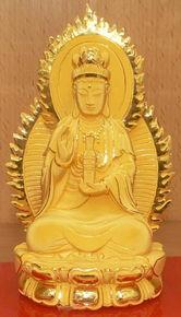 珍贵的一张照片 观音菩萨显圣像