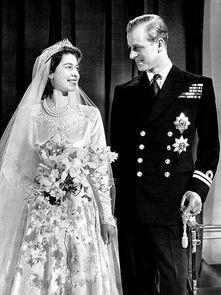 伊丽莎白二世和爱丁堡公爵菲利普1947年11月20日