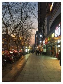 写春天的街道