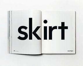 courreges新广告用纸样取代模特