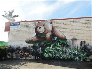 Fintan Magee的街头涂鸦作品 3